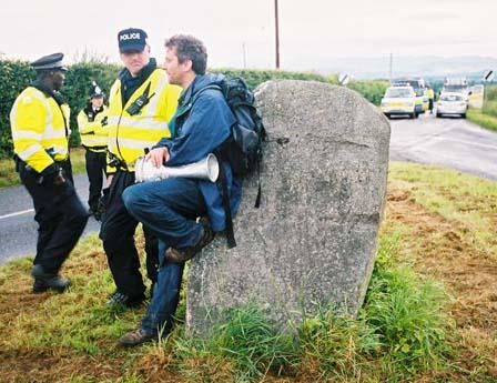 Matt Saywell's G8 protest photos