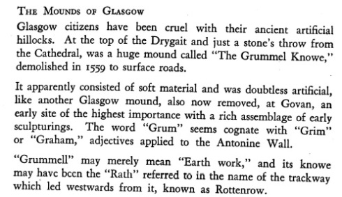 Extract from Mann's Earliest Glasgow