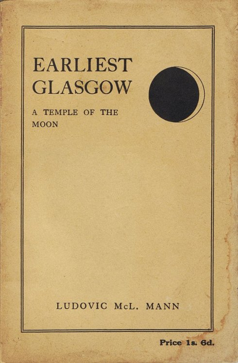 front_cover Earliest Glasgow