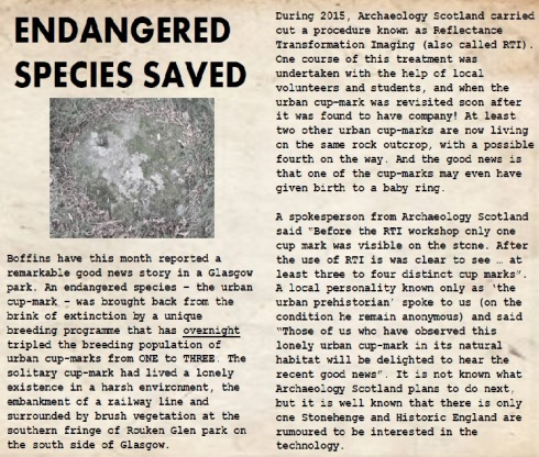 Endangered species saved