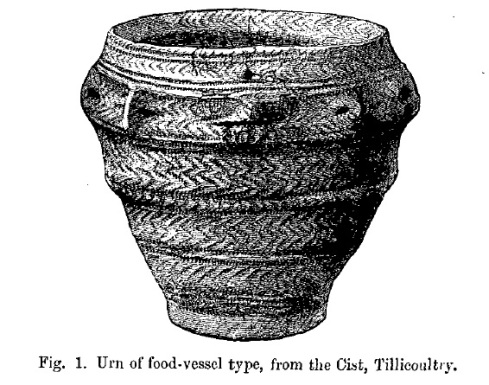 Food Vessel from Tillicoultry Robertson paper