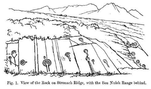 Stronach Ridge drawing