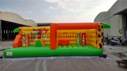 The-Flintstones-Theme-Inflatable-Bouncer-Castle-1134-