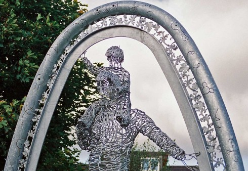 04 Andy Scott Sculpture My Clydebank Photos